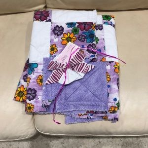 Rag Quilt Baby Blanket So cute